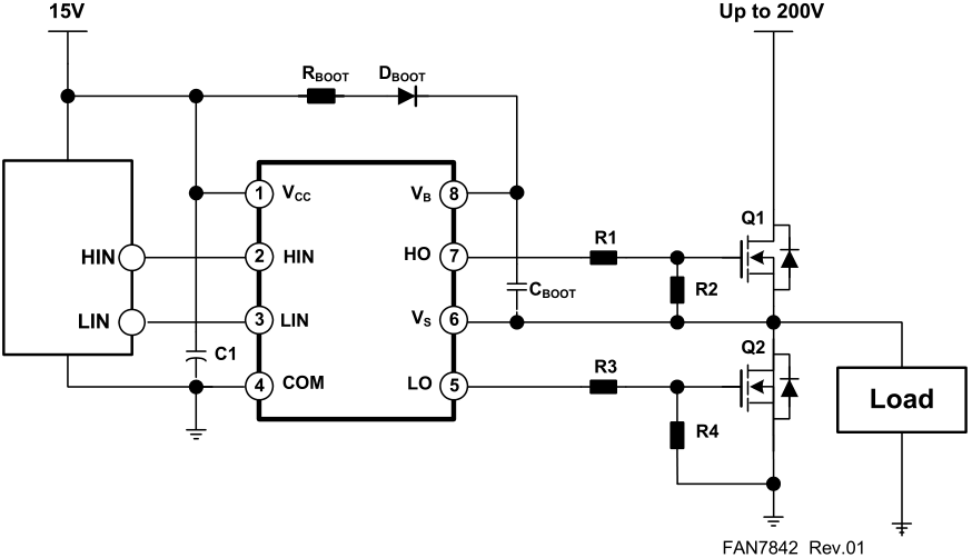 mosfet high side driver circuit