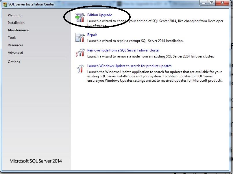 Upgade from SQL Server 2012 cluster Evaluation to enterprise