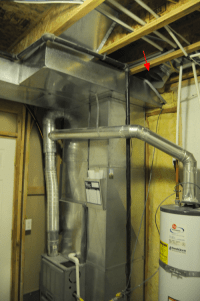 furnace - How can I avoid cold rooms due to combustion air ...
