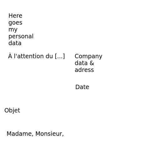 modern cv latex make date in french