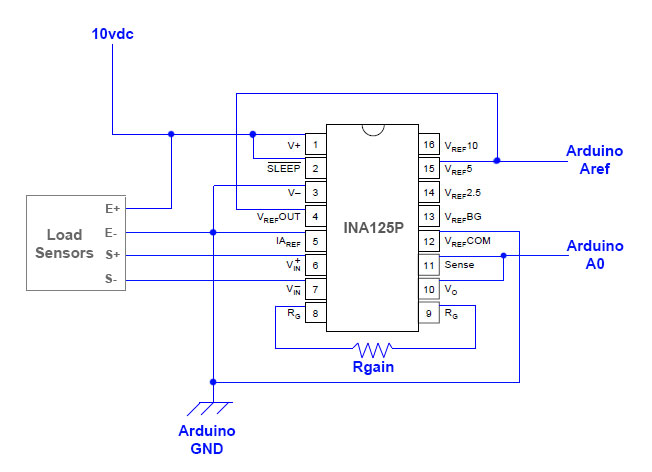 interface load cell wiring diagram