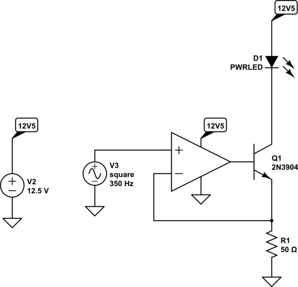 constant current explanation of led driver circuit electrical