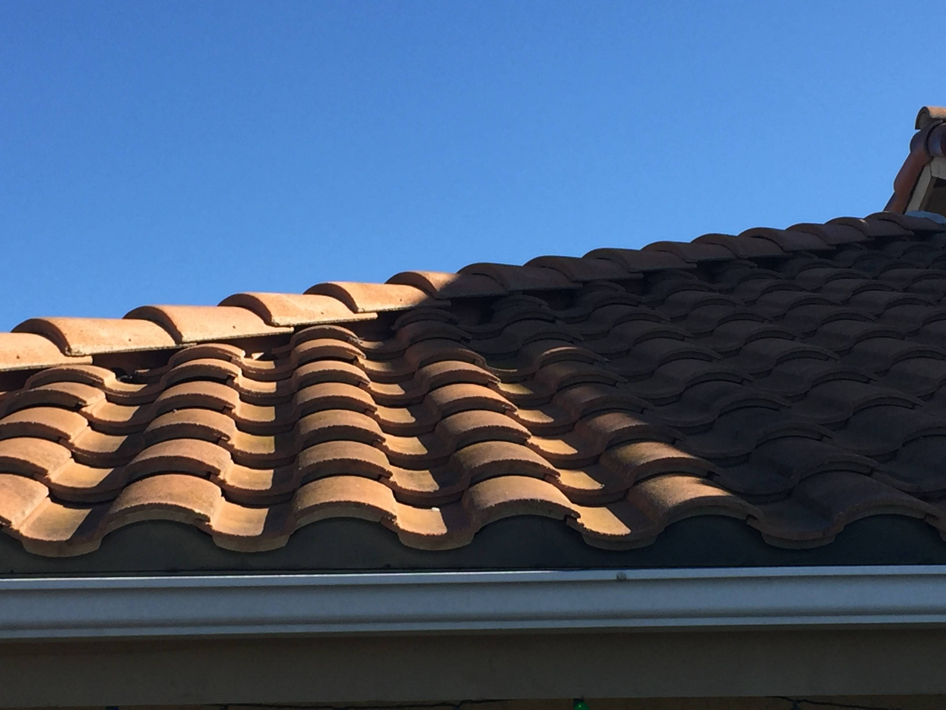 Exhaust Fan Roof Vent Vent Bathroom Exhaust Fan Through Clay Tile Roof Home