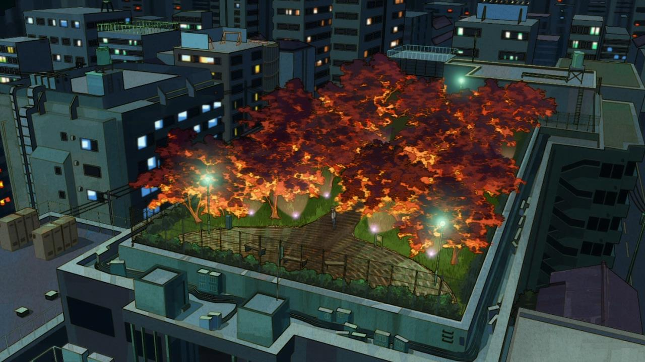 Best Anime Wallpaper Uchouten Kazoku Does This Arboretum Rooftop Building