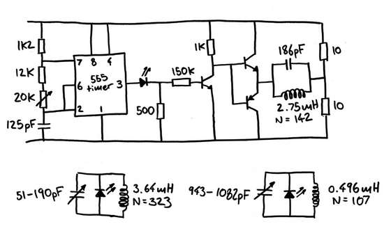 wireless charging technology circuit diagram