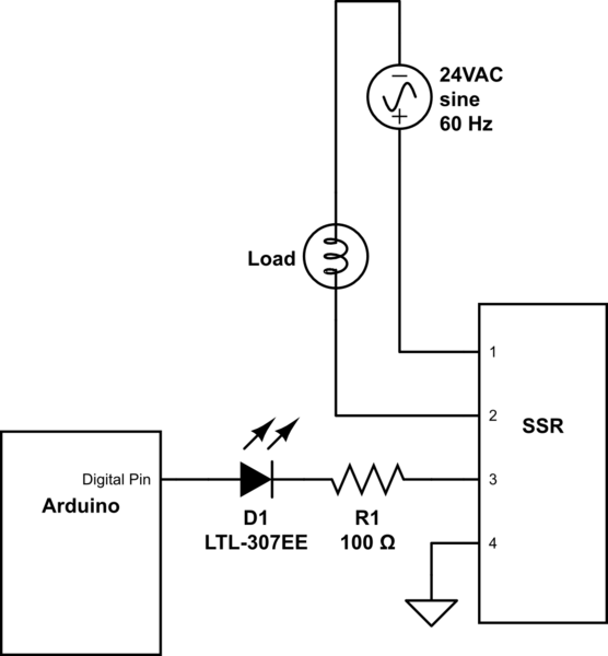 electrical schematic digikey
