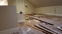 Finishing Attic Floor (Joists Blocking / Insulation ...