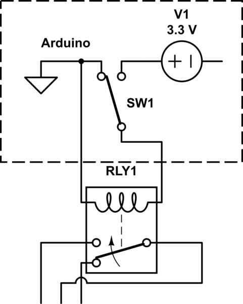 spdt electromagnetic relay