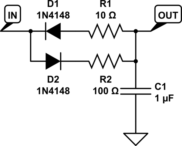 circuitlab rc lowpass filter