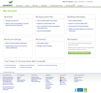 design patterns - Redesigning a My Account Page, What kind ...