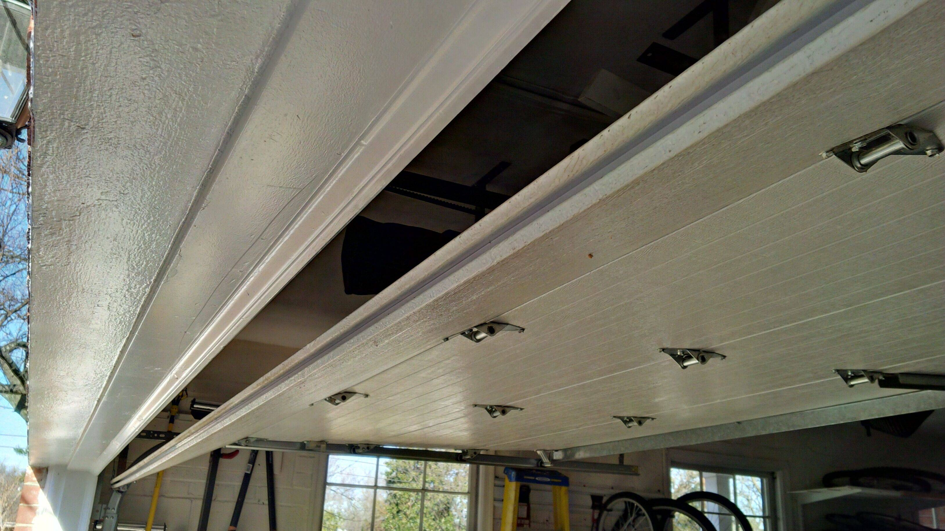 Garage Door Weather Stripping Replacement Single Groove Home Improvement Stack Exchange