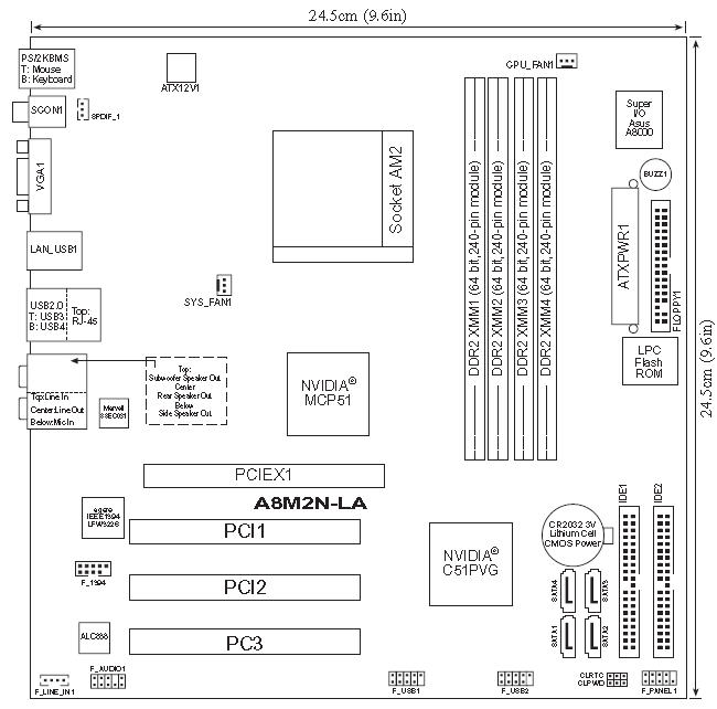 hp motherboard diagram