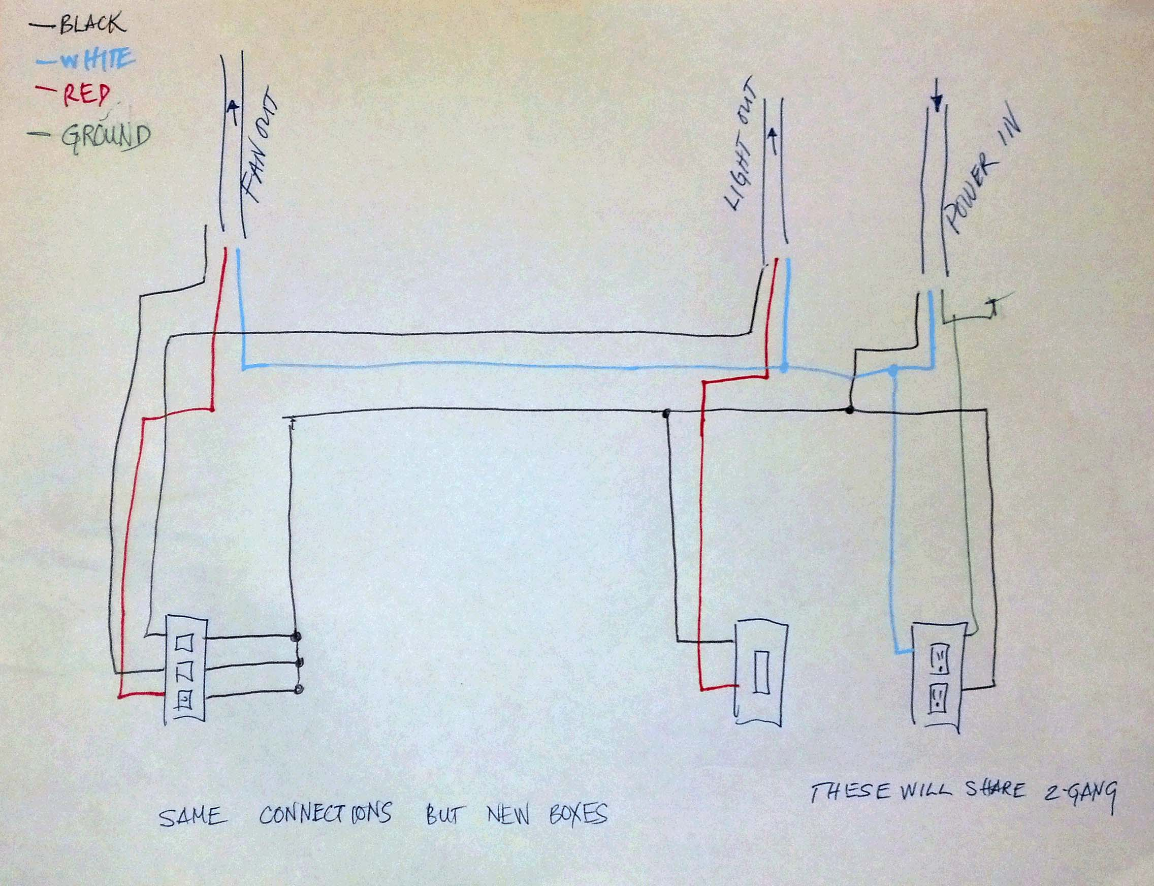 Bathroom fan timer from aircycler wiring diagram - Bathroom Extractor Fan Fitting Vanity Light Wiring Diagram Facbooik Download