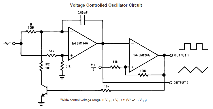 voltage controlled oscillator vco circuit
