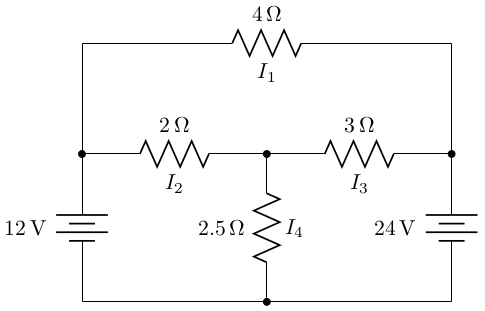 diagrams - Flow of current in a circuit - TeX - LaTeX Stack Exchange
