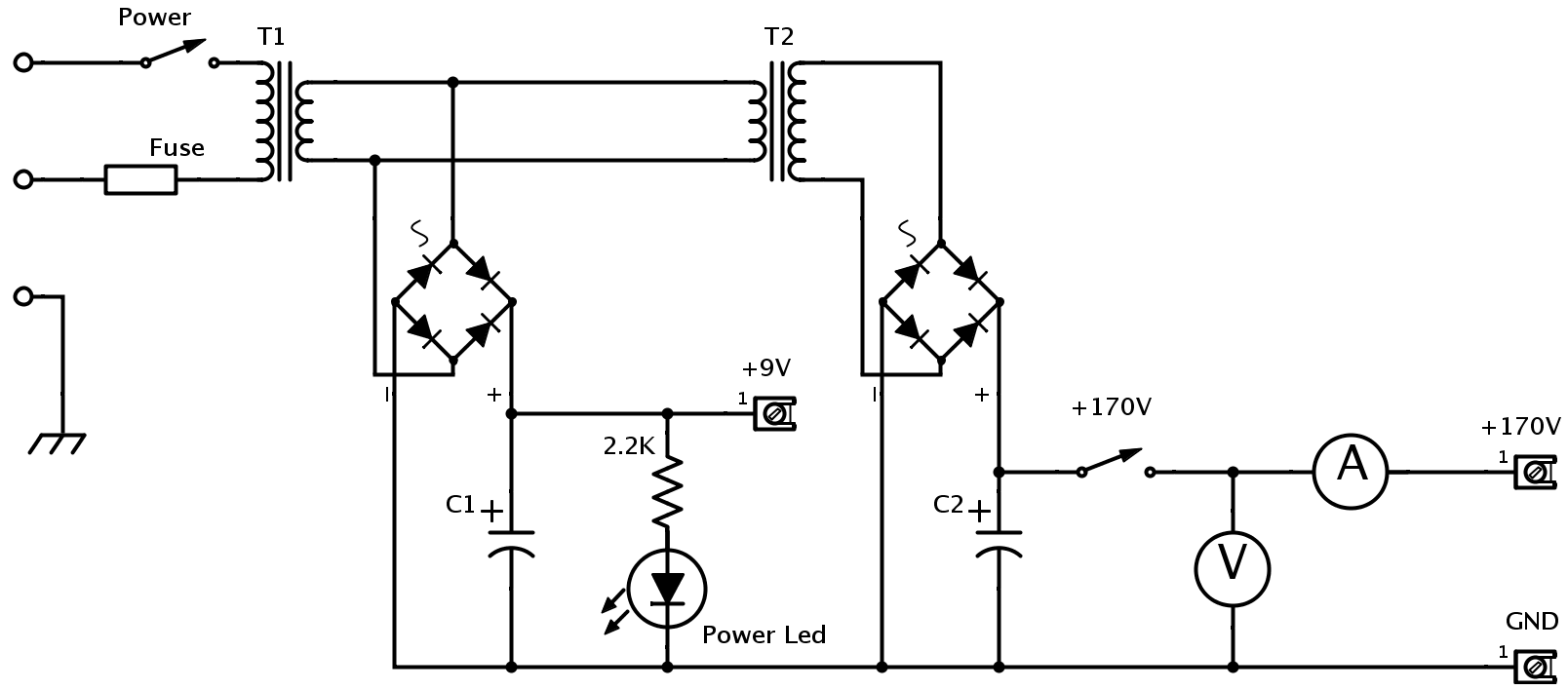 power supply question about transformer design electrical