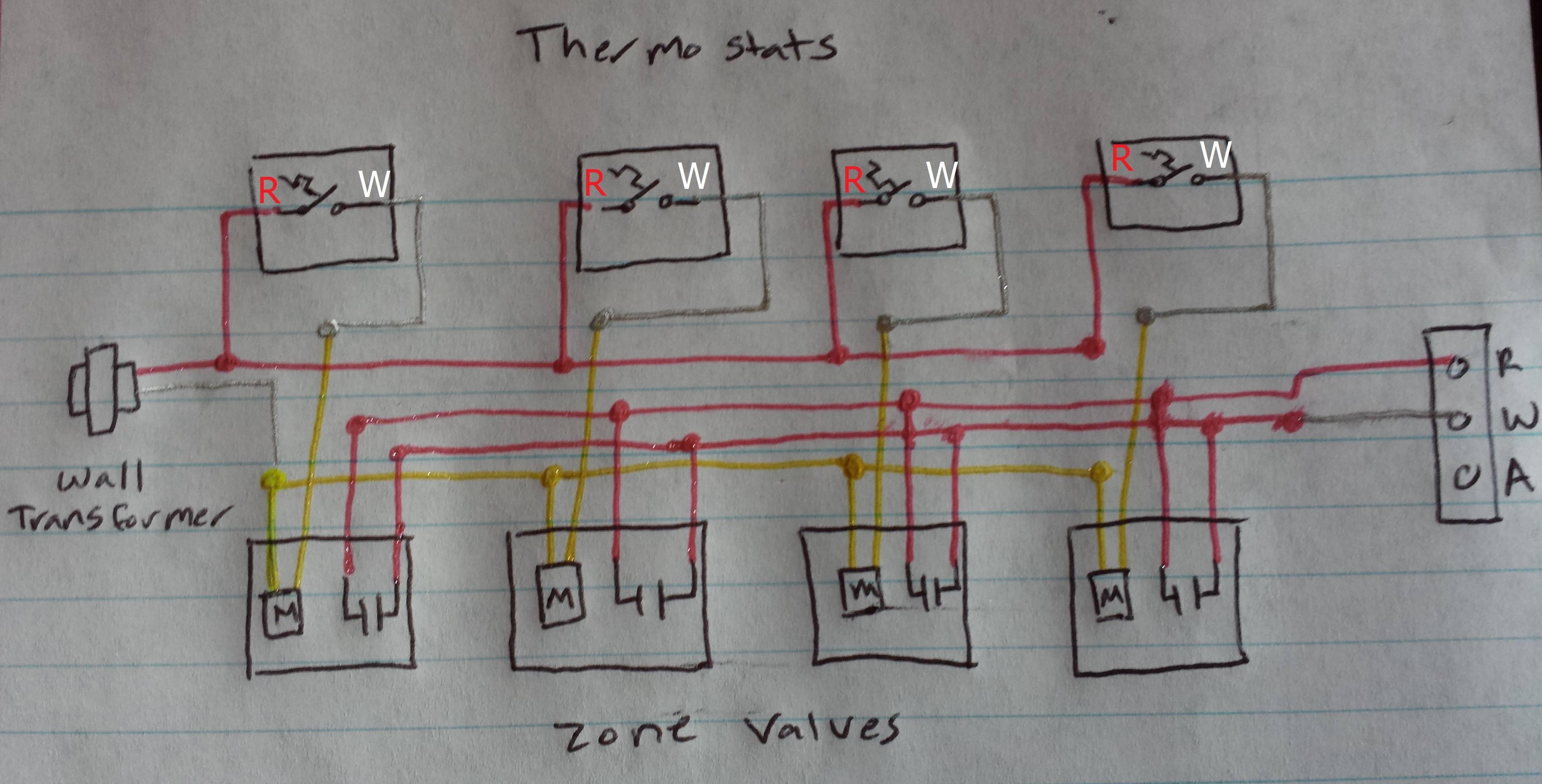 boiler zone wiring diagram