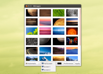 Using different wallpapers on multiple monitors (Gnome 2 + Compiz) - Ask Ubuntu