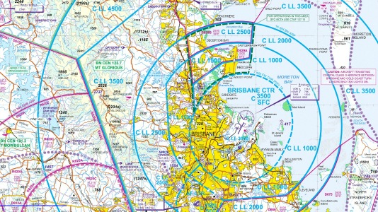 general aviation - Where can I find GA VFR maps for Australia