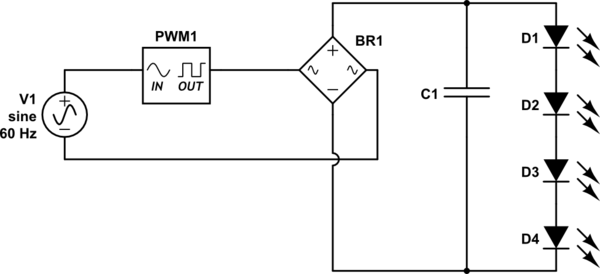 to see the circuit diagram how to draw this circuit
