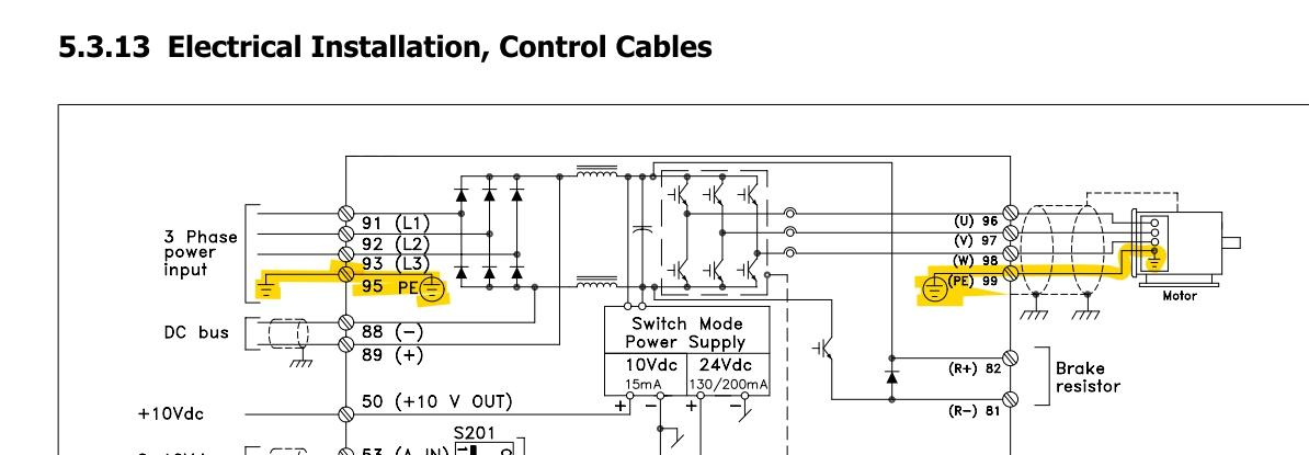 Ac Motor Wiring A Ground Wiring Diagram