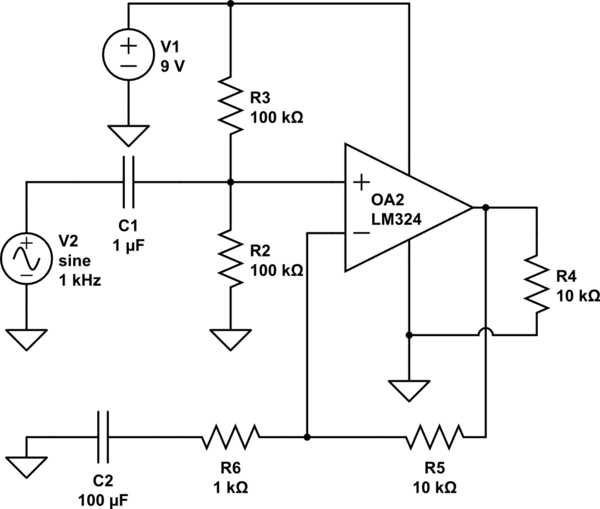 lm324 op amp circuit