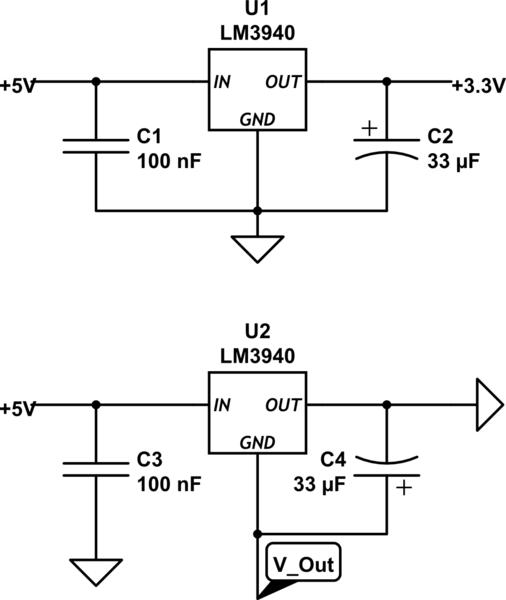 negative voltage regulator circuit