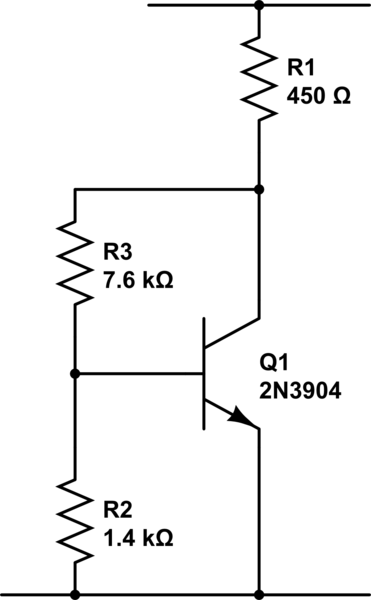 how do i calculate the base and collector current in this circuit