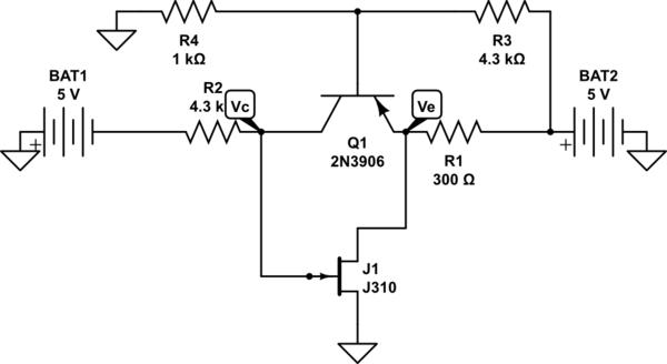 circuit diagram of jfet amplifier
