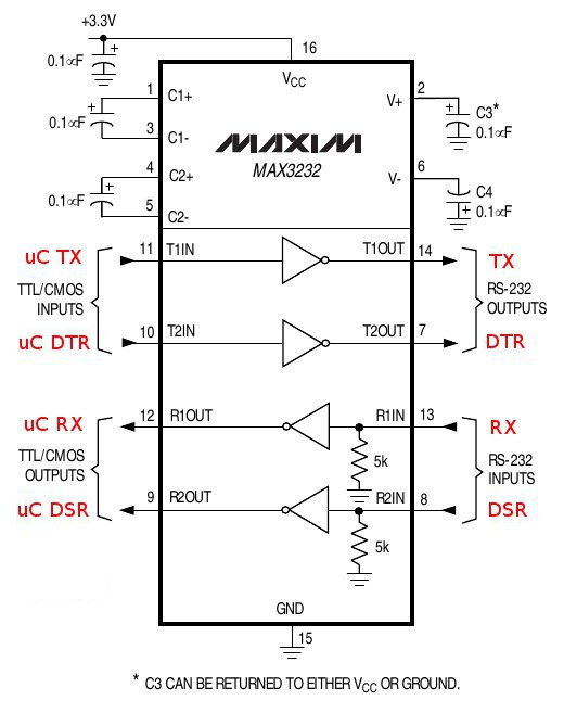 rs485 circuit diagram