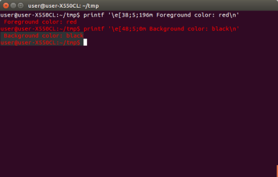 command line - Changing colour of text and background of terminal? - Ask Ubuntu