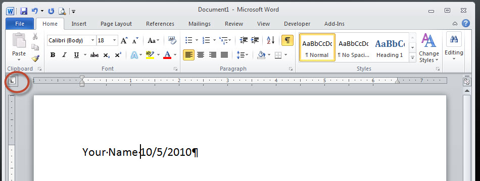 Word formatting - need to align left to left, right to right in same - how to create a resume in word