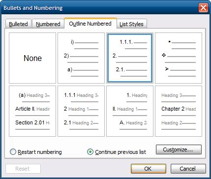 hierarical numbering in microsoft word 2003 - Super User - numbering tickets in word