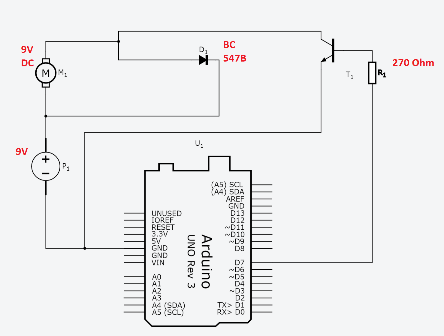 power relay with arduino