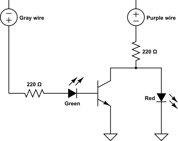 led wire harness schematic