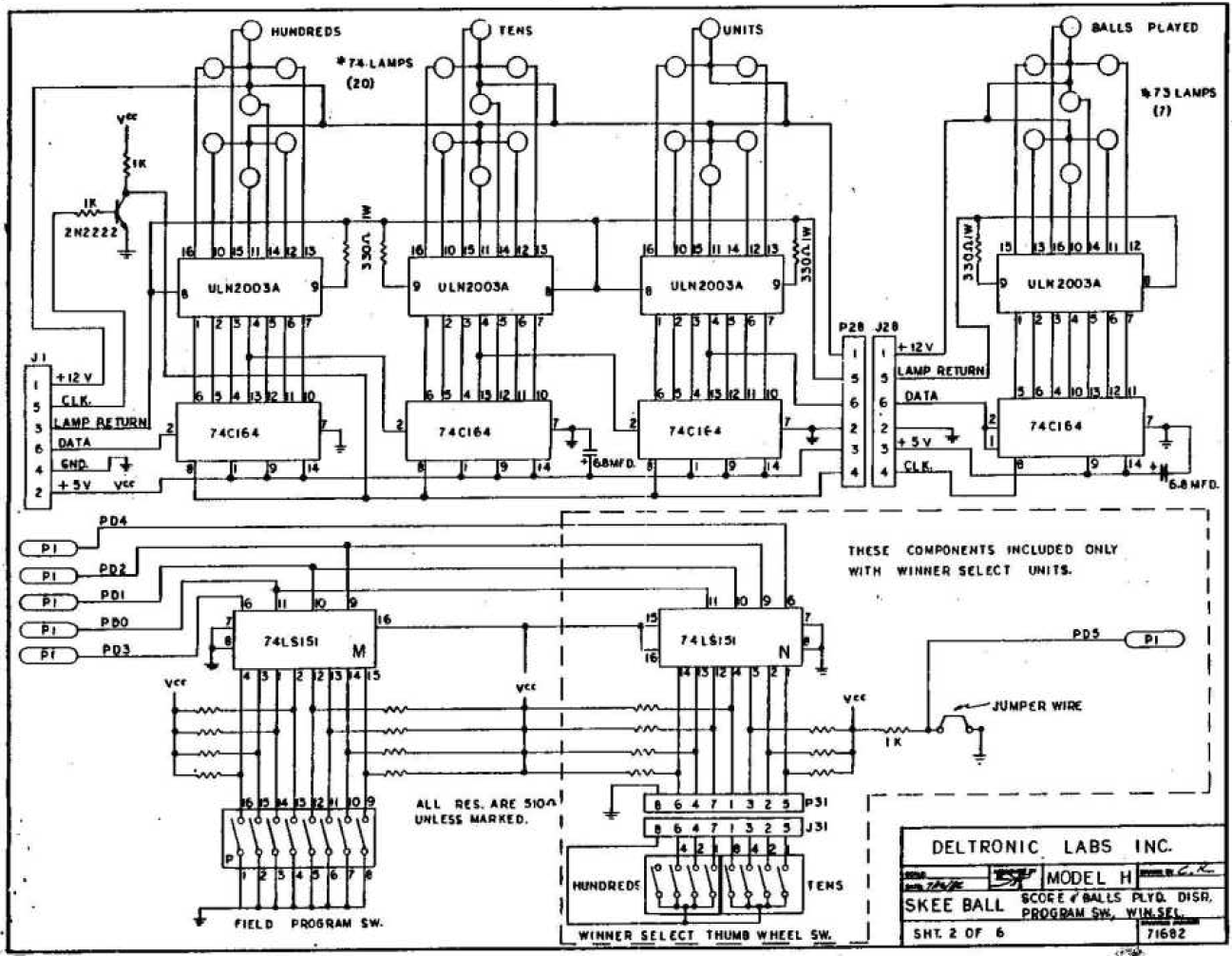 modified schematic explanation of display unit