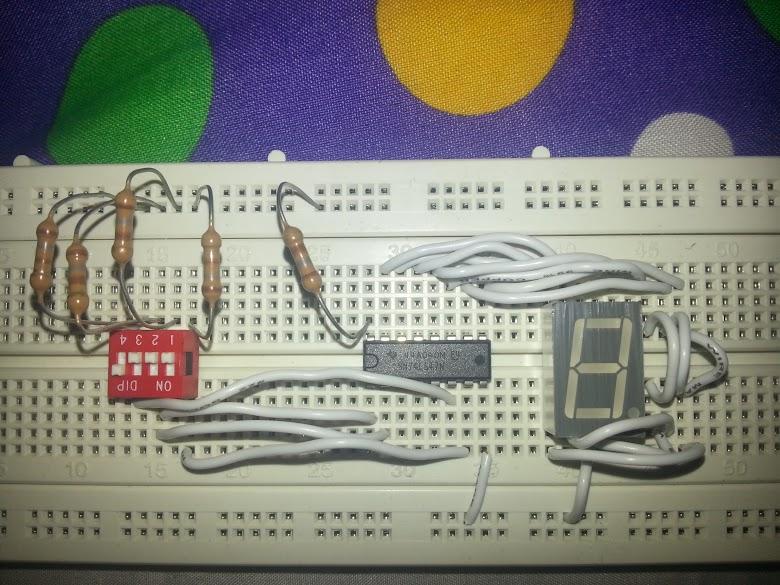 7segmentdisplay - Help on 74LS47 and 7 segment diode - Electrical