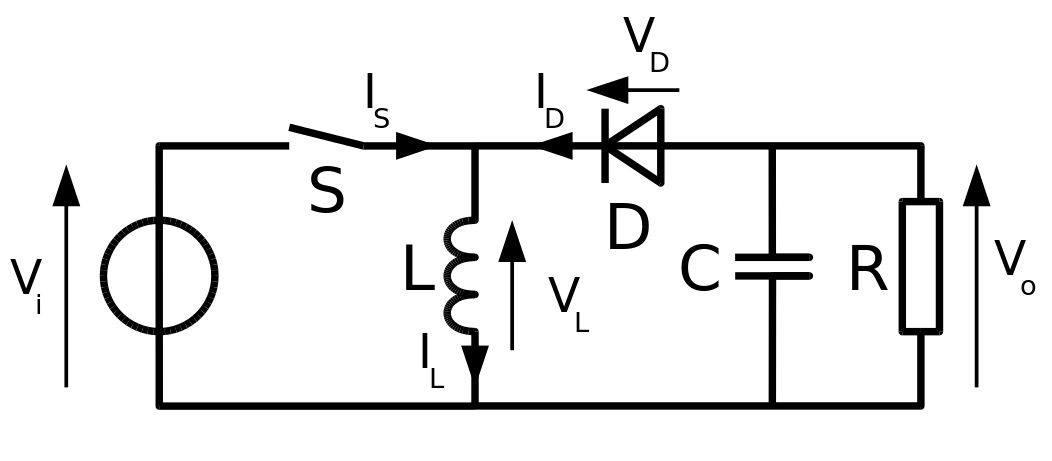voltage converter circuit 6 to 12v
