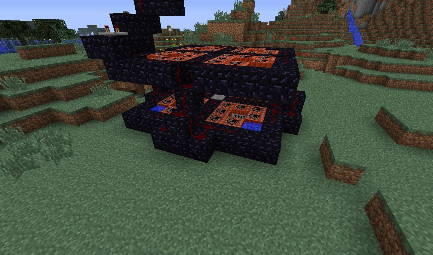 Minecraft Redstone Can I Build A Tnt Cannon That Fires