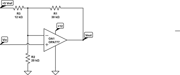 op amp voltage shift to negative range electrical engineering