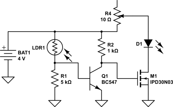 Pleasant Image Working Of An Ldr In A Circuit Auto Electrical Wiring Diagram Wiring Digital Resources Instshebarightsorg