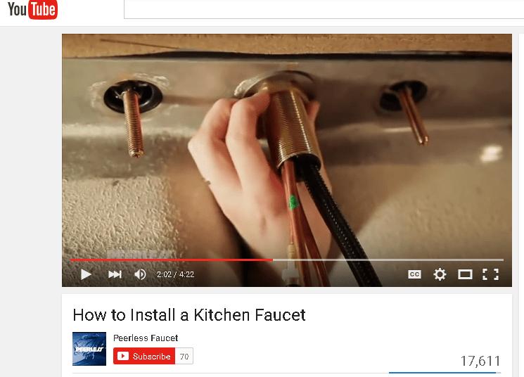 How To Tighten Kitchen Faucet Nut Under Sink Besto Blog