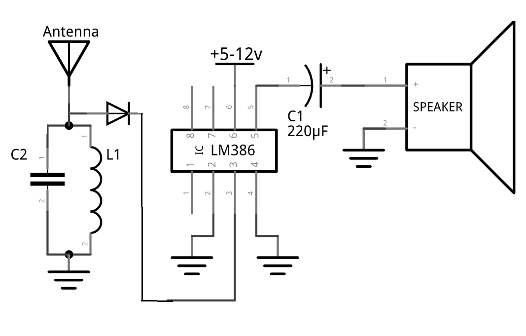 fm transmitter schematic diagram