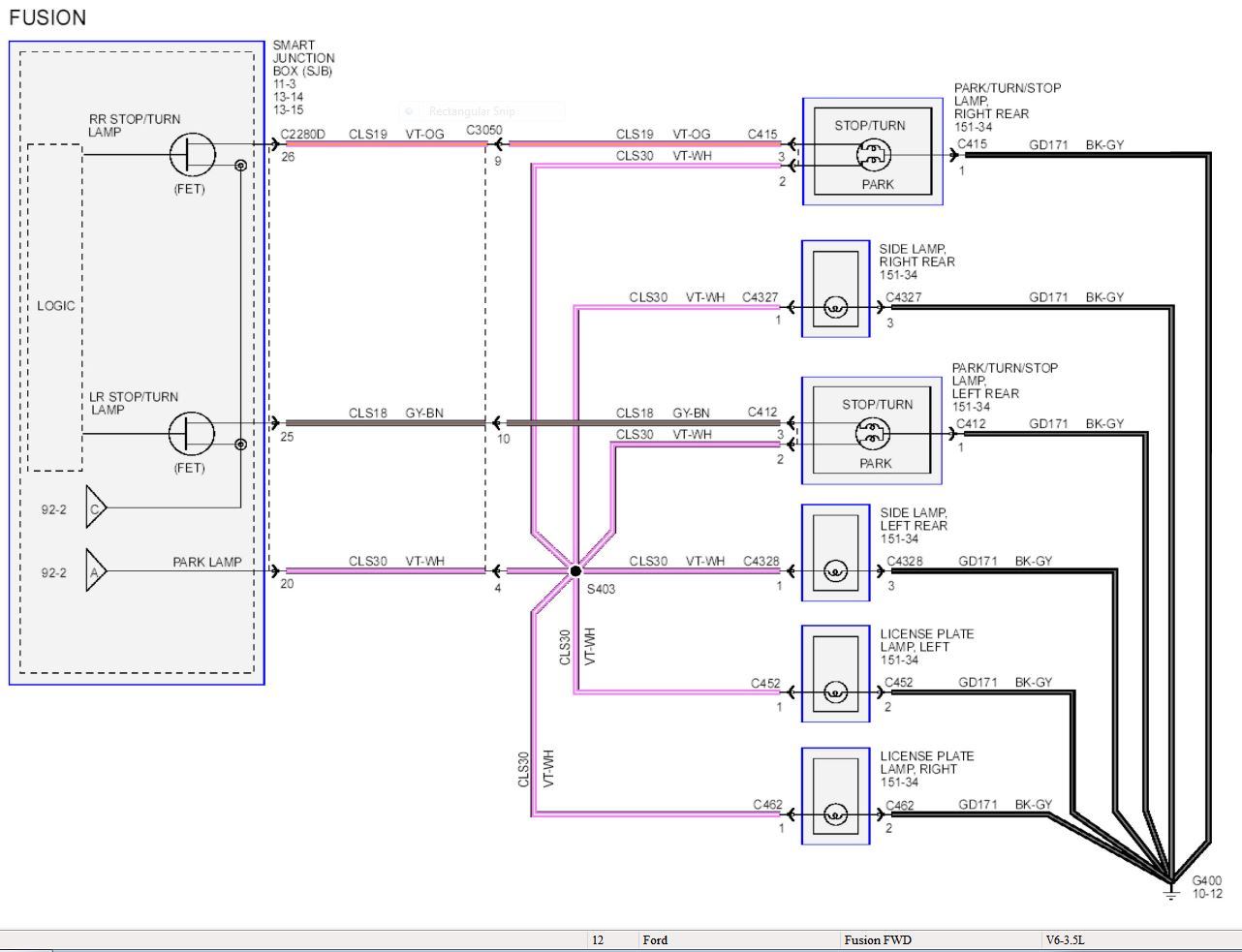 2014 ford fusion wiring diagram fisch