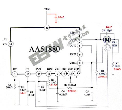 sg90 servo motor wiring