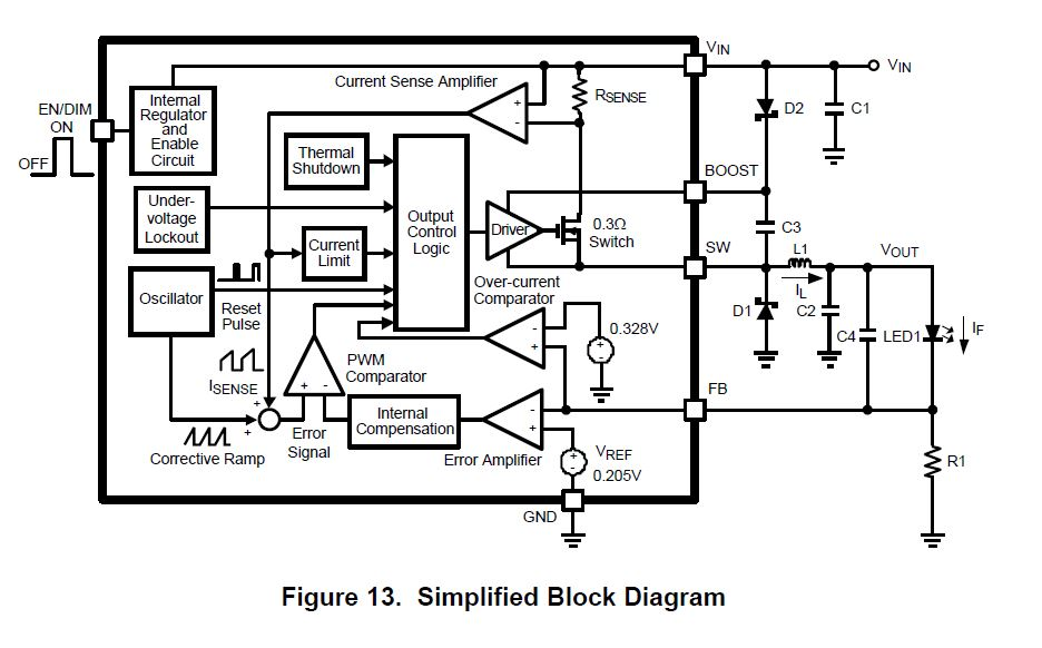 buck mode regulator schematic