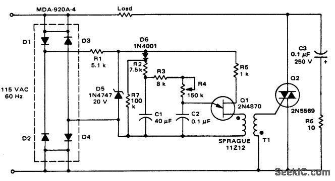 12 volts light dimmer circuit diagram