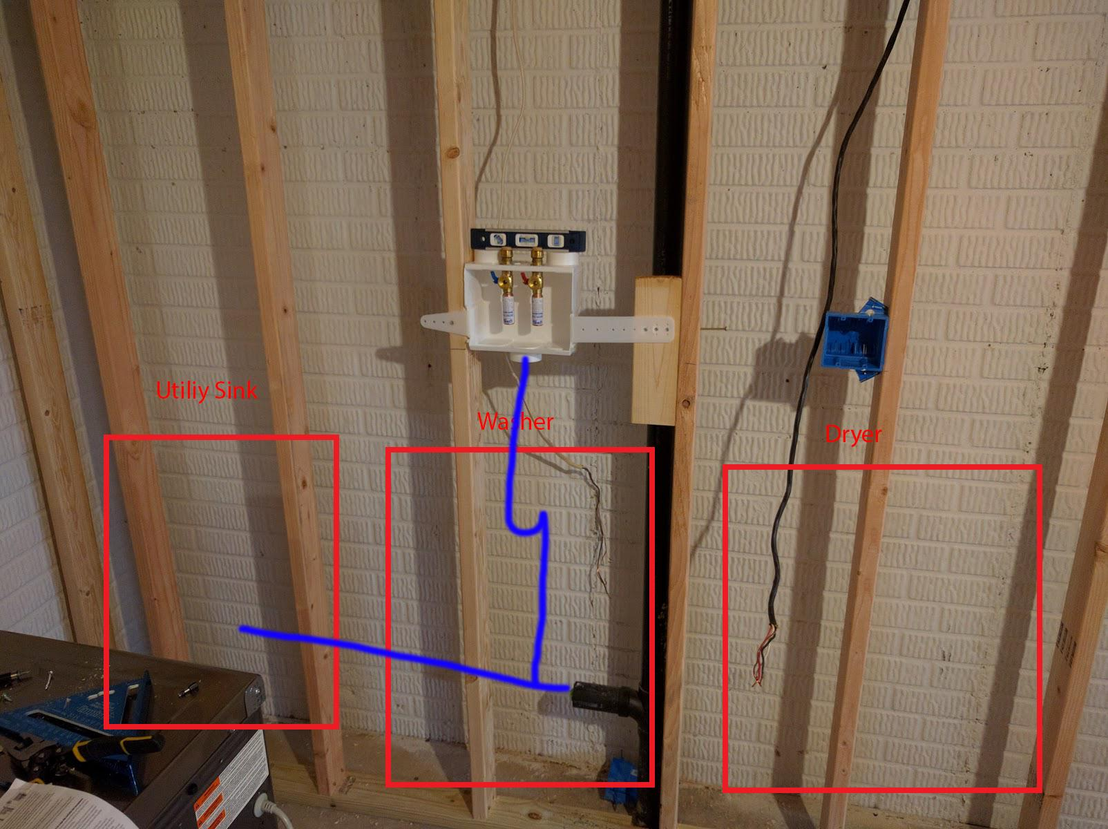 Plumbing Question About Running New Drain Pipes In