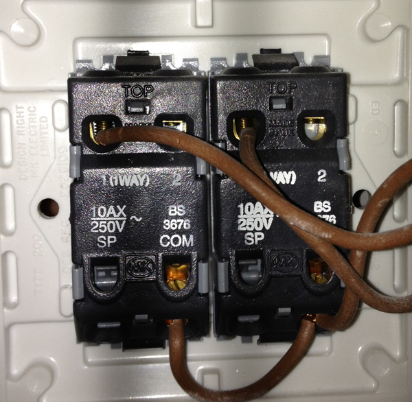 i am trying to install a 2 gang 1way dimmer switch on my