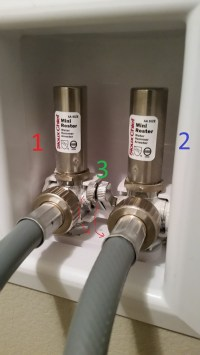 plumbing - Laundry box and water hammer arrestor - Home ...